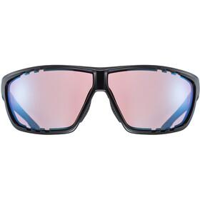 UVEX Sportstyle 706 Colorvision Sportglasses black mat/outdoor